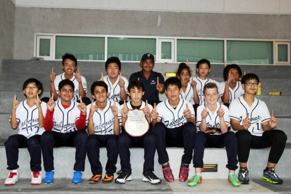 NIST BISAC U13 Boys Softball Champions