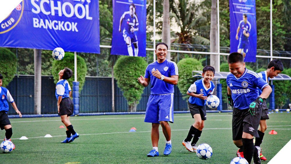 Chelsea FC Soccer School Bangkok at NIST International School Bangkok