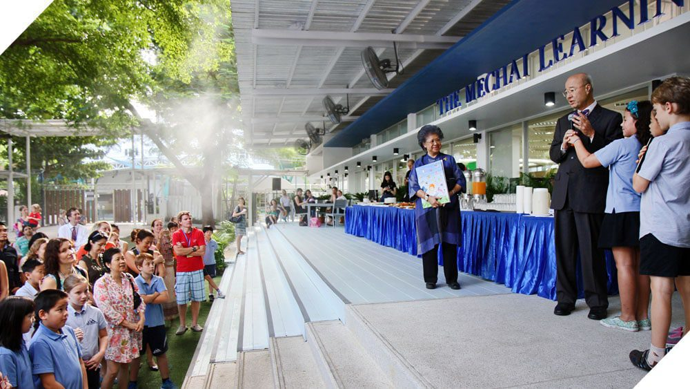 Khun Mechai Opens the Learning Commons at NIST