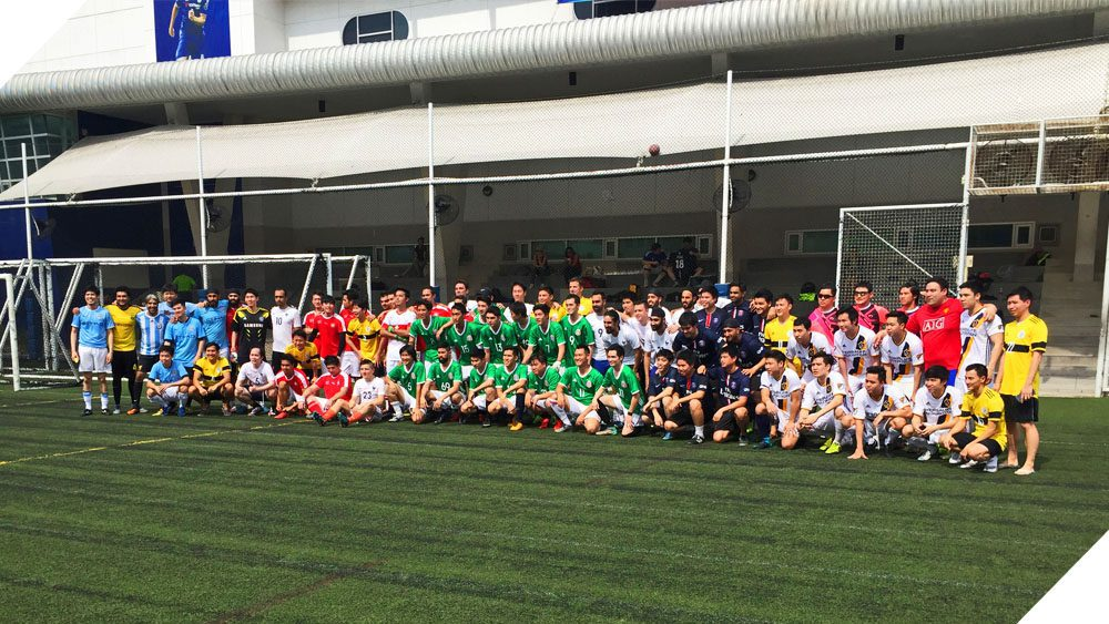 Eight Schools Join NIST's Alumni Sports Tournament