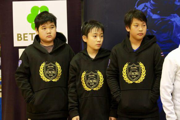 NIST Falcons Fencing Club - Under 12 Boys