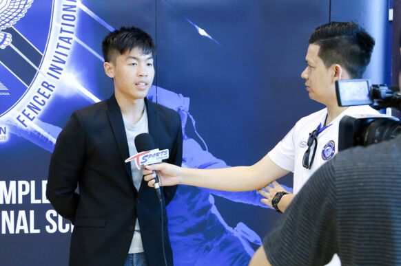 NIST Interview with Ping Ping for Falcons Young Fencer Invitational
