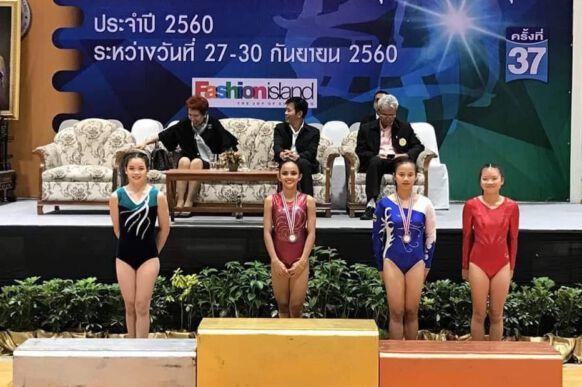 2017 Thailand Gymnastics Championship 1