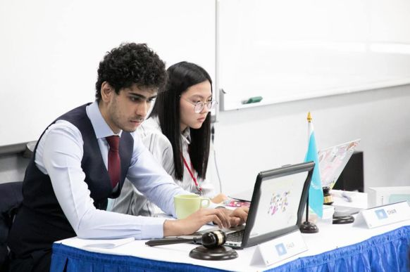 2018 Bangkok Model United Nations Conference at NIST 4
