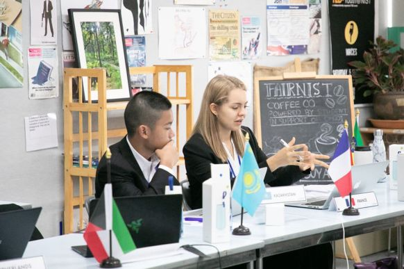 2018 Bangkok Model United Nations Conference at NIST 5