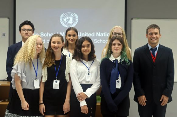 NIST Middle School Model United Nations 01
